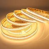 LTRGBW SMD2835 de alta densidad DC24V 1200LEDs tiras de LED regulables de un solo color blanco cálido 5M impermeable IP67
