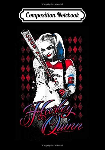 Composition Notebook: Suicide Squad Harley Quinn Bat, Journal 6 x 9, 100...
