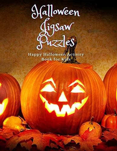 Halloween Jigsaw Puzzle: Halloween jigsaw puzzle adults,Halloween jigsaw puzzle for kids,Halloween jigsaw puzzle large piece,Halloween jigsaw puzzles,jigsaw Halloween, (English Edition)