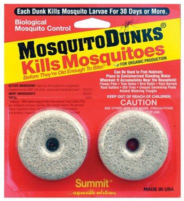 Summit Chemical 102-12 Mosquito Dunk, 2-Pk. - Quantity 12