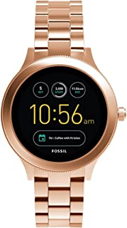 Fossil Q Womens Gen 3 Venture Stainless Steel Smartwatch, Color: Rose Gold-Tone