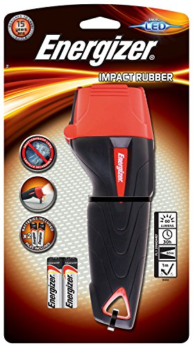 Energizer - 632629 - Grande Torche Impact Rubber 2AA