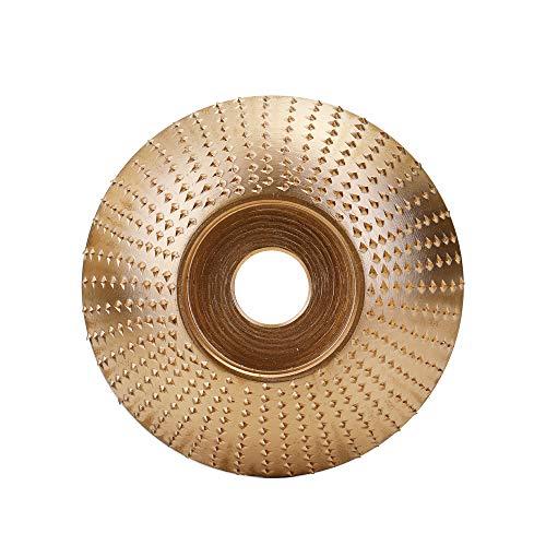 Festnight Lavorazione del legno Legno Mola Smerigliatrice Carving Utensile rotante Disco abrasivo Per smerigliatrice angolare Carburo di tungsteno Rivestimento Alesaggio