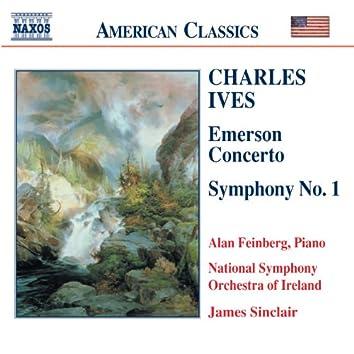 Ives: Symphony No. 1 / Emerson Concerto