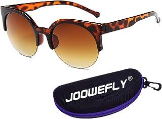 Vintage Cateye Sunglasses, Retro Small Cat Eye Sun Glasses Women & Men UV Protection Round Polarized Sunglasses Outdoor Ey...