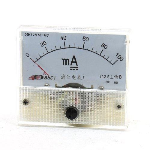 Aexit 0-100mA Gleichstrom-Rechteckpaneel mit Ampere-Messgerät 85C1 (9b1f64d590d693afbb51fffe35fe6e0b)