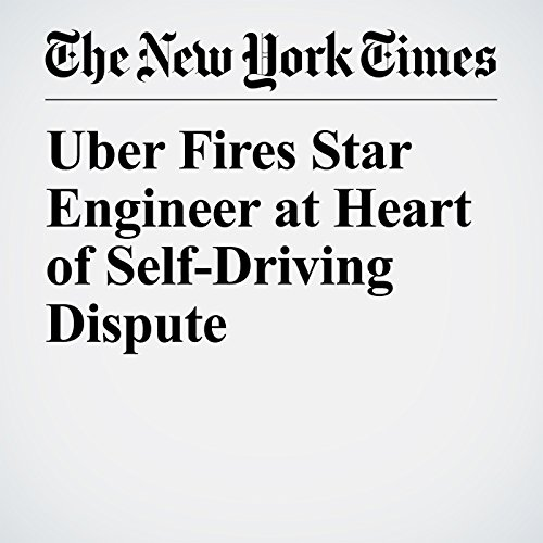 Uber Fires Star Engineer at Heart of Self-Driving Dispute copertina