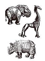 動物の透明なクリアシリコンスタンプ/DIYスクラップブッキング用シール/フォトアルバム装飾的なクリアスタンプA0365