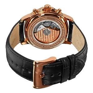 Stuhrling Prestige Men's 362.334554 Swiss Made Accolade Mechanical Leather Alligator Strap Watch