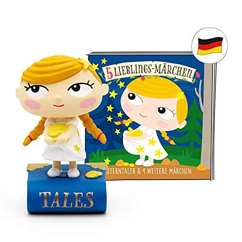 tonies Hörfiguren für Toniebox - 5 Lieblings-Märchen - Sterntaler und 4 weitere Märchen - ca. 50 Min. - Ab 3 Jahre -DEUTSCH