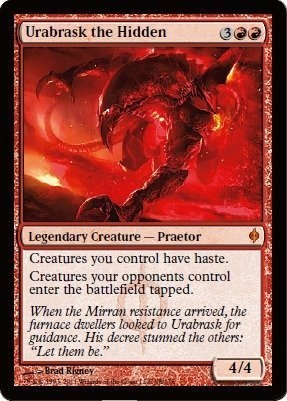 Magic: the Gathering - Urabrask, the Hidden - New Phyrexia