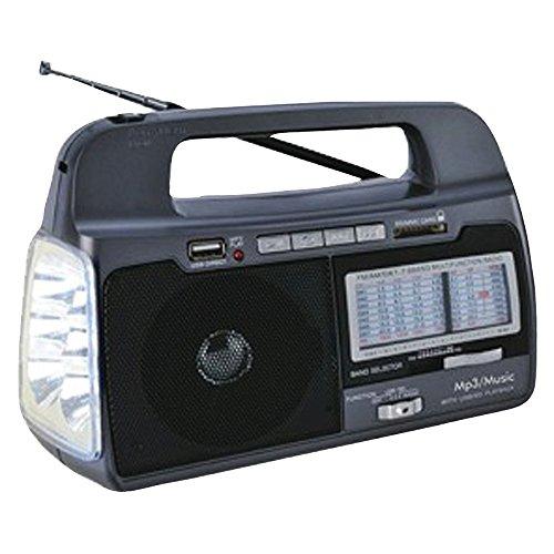 Supersonic R SC-1082 9-Band AM/FM/SW1-7 Portable Radio