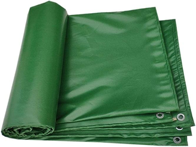 Bache Verte résistante, imperméable Double Face, Couverture de remorque de Camping pour Pique-Nique, 450G   M2 (Taille   3x5m)