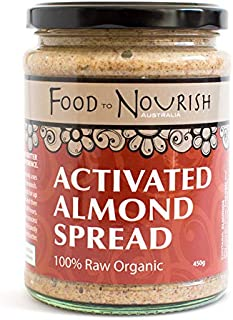 Food to Nourish Food to Nourish Organic Activated Almond Spread 450 g
