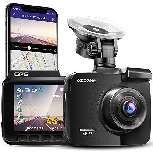 AZDOME -   4K WiFi Dashcam mit