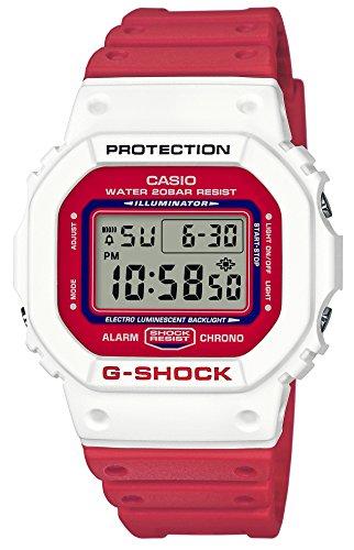 [カシオ] 腕時計 ジーショック THROW BACK 1983 DW-5600TB-4AJF メンズ レッド
