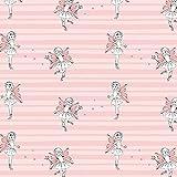 FEEN/rosa, Bio-Sommersweat (French Terry), 155 cm breit