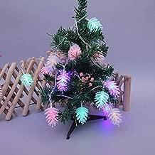 Cadena de Luces 3m conos de pino de Navidad Led luces de cadena ...