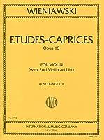 ウィニアウスキ : 6つのエチュード・カプリス Op.18/インターナショナル・ミュージック社/バイオリン教本