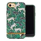 Funda de Richmond and Finch diseñada para iPhone SE, Funda Leopardo Verde para iPhone 6 / 6s / 7/8 con Detalles Dorados - Verde