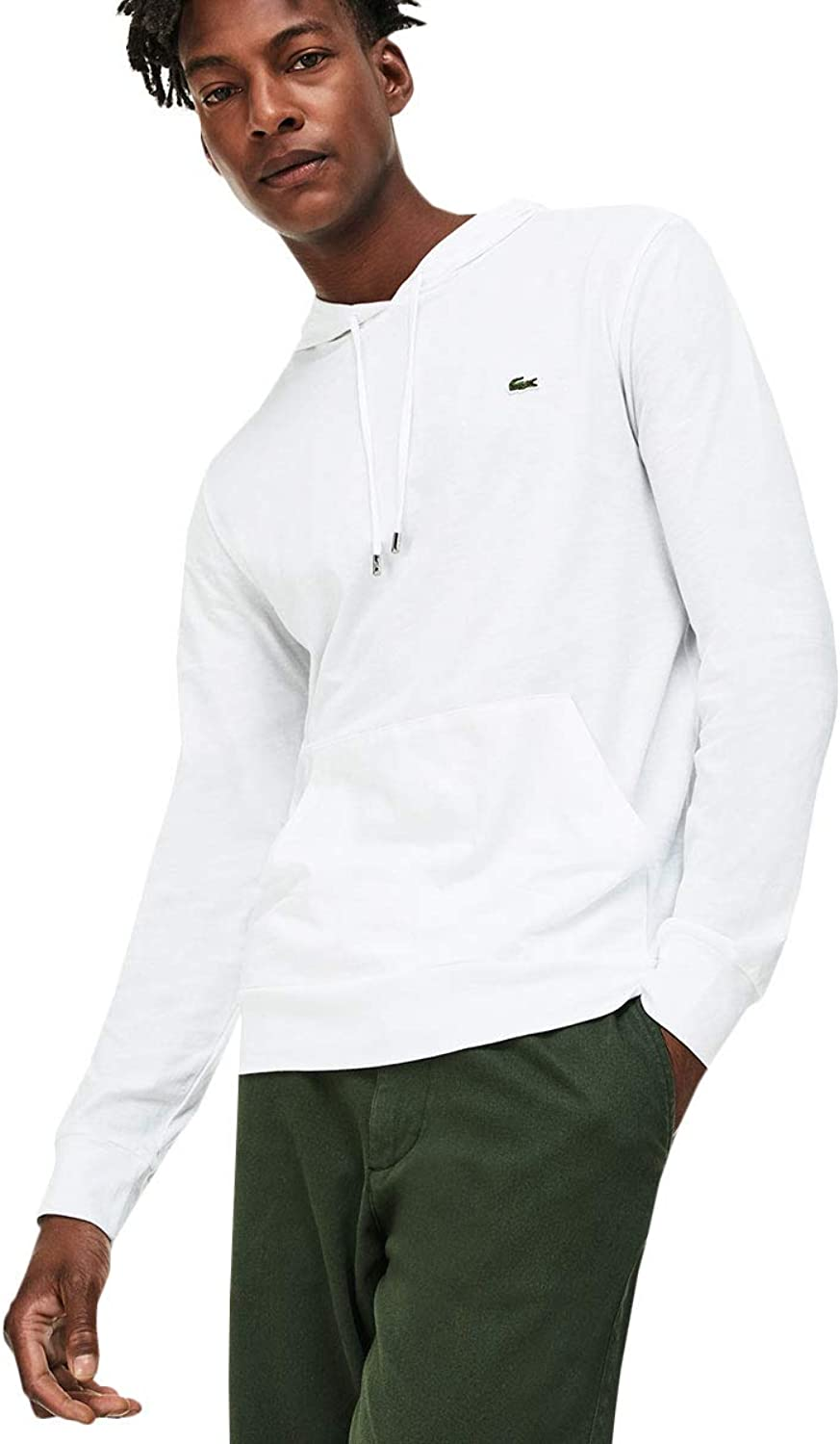 Lacoste Mens 2019 Hooded Cotton Hoodie