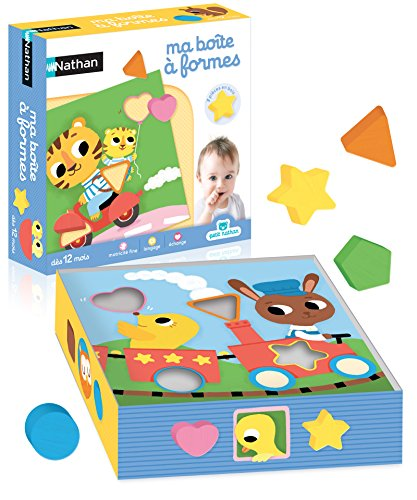 Nathan - 31433 - Boîte à Formes