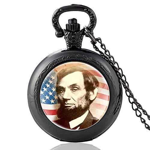Reloj de bolsillo de bronce para hombre y mujer, diseño vintage del...
