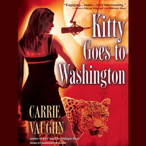 Kitty Goes to Washington audiobook cover art