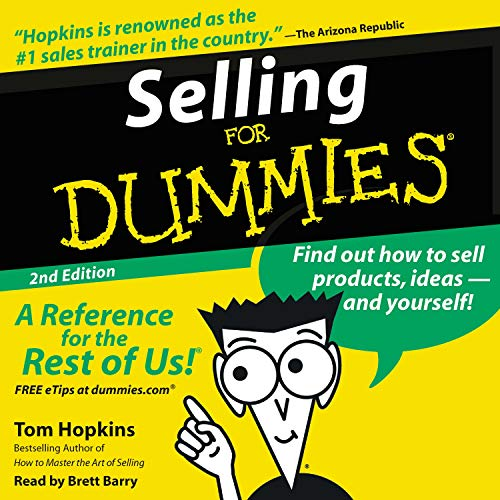 Selling for Dummies, Second Edition Audiobook By Tom Hopkins cover art