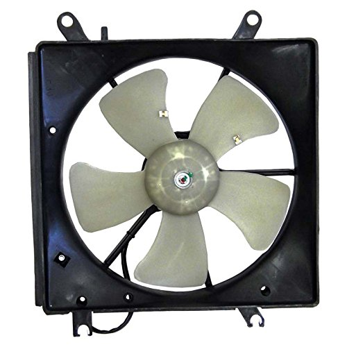 New Radiator Fan Assembly Replacement For 1997 1998 Honda Prelude 2.2L & 1994 1995 1996 Honda Accord, Replaces Honda 19016-P0A-004 19016P0A004