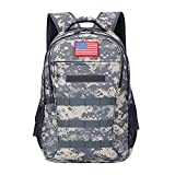 Camo Backpack,Military Teen Boys Backpacks for School, Army Bookbag with USB Charging Port,40L