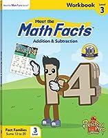Meet the Math Facts Level 3 - Workbook 1935610546 Book Cover