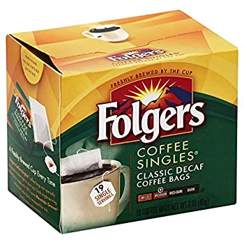 Best folgers coffee singles decaf Reviews