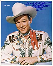 ROY ROGERS JSA COA CERTED HAND SIGNED 8X10 PHOTO AUTHENTICATED AUTOGRAPH