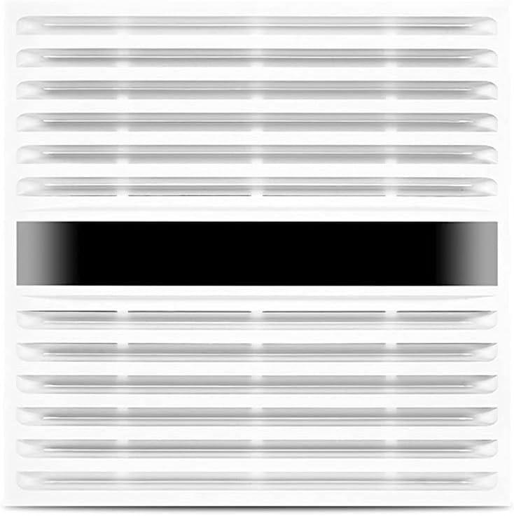 Ventilador Extractor de baño Conversión de frecuencia Control de Velocidad Inteligente Ventilador de Escape Cocina Baño Techo Integrado Ventilador de Escape de Techo