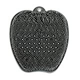 Shower Foot Scrubber Massager Cleaner for Shower Floor , Acupressure Mat with Non-Slip Suction Cups, Improve Circulation,Exfoliation, Massage Mat, Foot Cleanerand Reduce Feet Pain (Gray)
