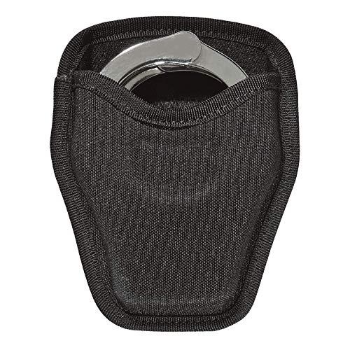 Bianchi Accumold 8034 Open Top Cuff Case, Fits Standard Handcuffs - Black