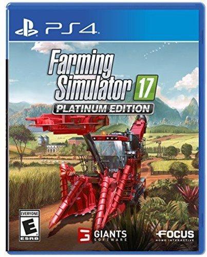 Farming Simulator 17 Platinum Edition - PlayStation 4