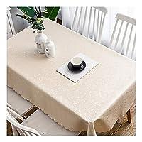 """テーブルクロス 洗えるポリエステル長方形のテーブルの防水テーブルクロス - ビュッフェテーブル、パーティー、休日のディナー、クリスマスの飾りのための素晴らしいです (Color : A, Size : 130x190cm/51""""x75"""")"""