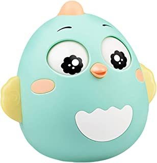 Anniston Baby Accessories, Lovely Cartoon Chick Doll Tumbler Rattle Early Educational Toy Baby Infant Gift Perfect Fun tim...