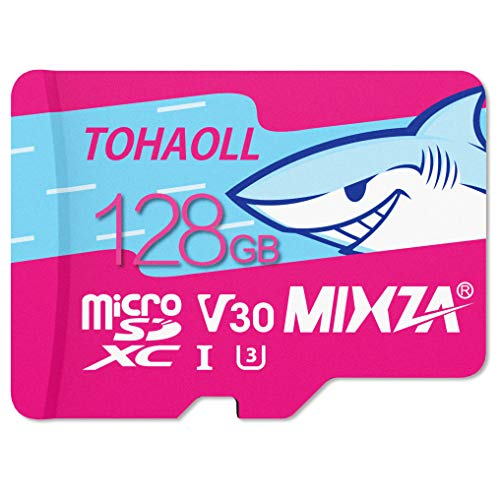 128GB MicroSD Card for Nintendo Switch,MicsoSDXC Memory Card Ultra High Transfer Speed Up to 100MB/s,UHS-1 U3 V30 Memory Card for Tablet Drone Digtal Camera and Action Camera