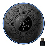 eMeet Bluetooth Konferenzlautsprecher - USB Freisprecheinrichtung für 5-8 Personen Konferenz, mit...