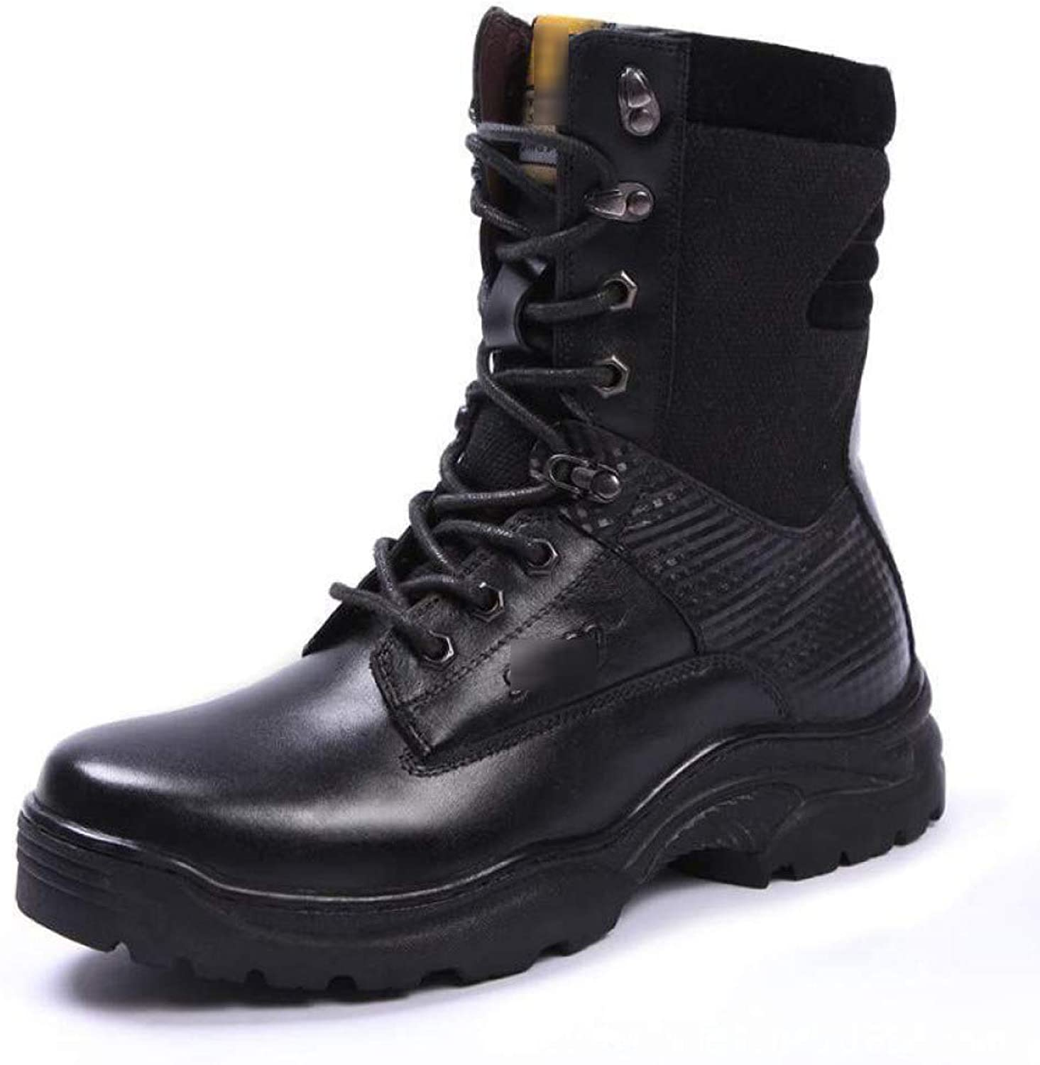 Tactical Boots Outdoor Men's Waterproof Plus Velvet Leather Boots Special Forces Combat Boots Desert Boots