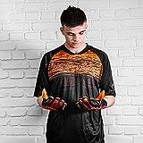 HO Soccer Jersey PHENOMEON SS Black/Orange Camiseta de Portero, Adultos Unisex, Naranja, L