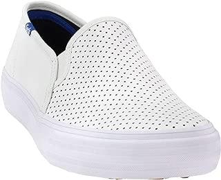 Keds Women's Double Decker Perf Leather Sneaker