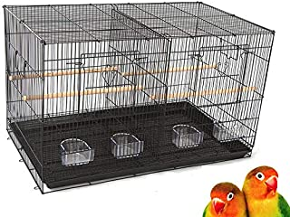 Best double bird cage with center divider Reviews