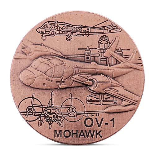 LJIE Moneda Moneda Moneda Conmemorativa OV Fuerza Aérea de los EE.UU.