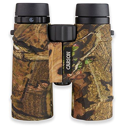 Carson 3D Series High Definition Binoculars with ED Glass, Mossy Oak, 10x 42mm