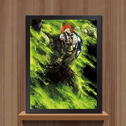 Neues Angebot Retro leinwand gemälde auf leinwand gedruckt in Wohnzimmer bar Cafe rahmenlose malerei 30x45 cm