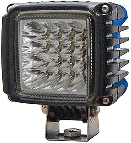 Hella 1GA 996 189-051 Arbeitsscheinwerfer - Power Beam 2000 - LED - 12V/24V - 2200lm - Anbau - stehend - weitreichende Ausleuchtung